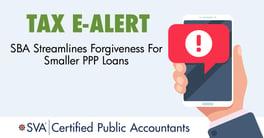 tax-ealert-SBA-Streamlines-Forgiveness-For-Smaller-PPP-Loans